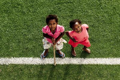 Frauenfussball spenden transparente hilfe