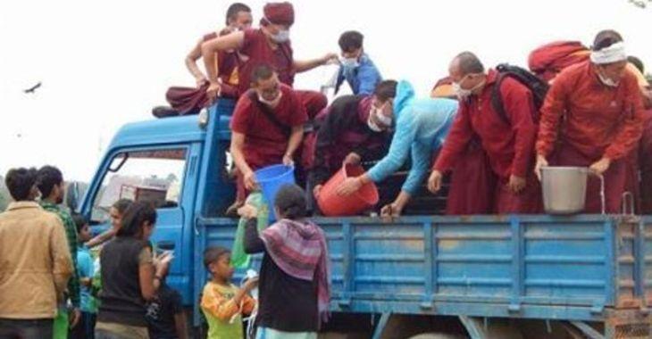 Fill 730x380 kopan monastey helps supply food and water