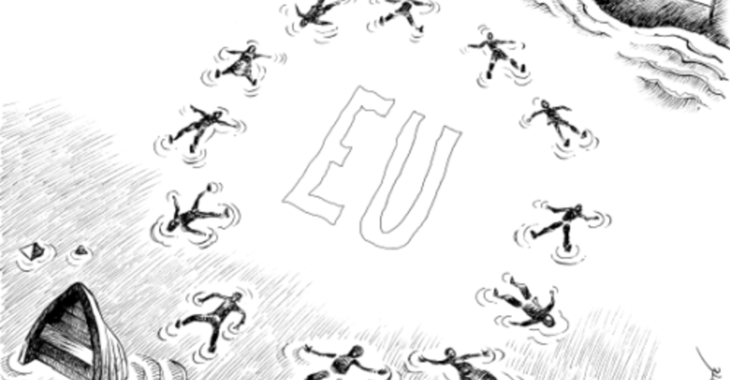 Fill 730x380 2013 10 05 chappatte deadly migration to europe black white