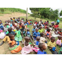 Fill 200x200 children enjoying breakfast as part of nutritional campaigns
