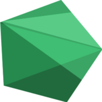 Fill 200x200 prism large green