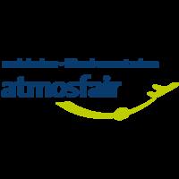 Fill 200x200 logo atmosfair de blauer schriftzug